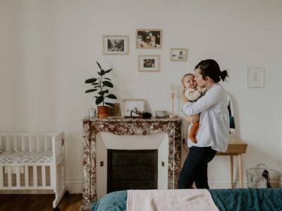 Une séance en famille à la maison | Léontine